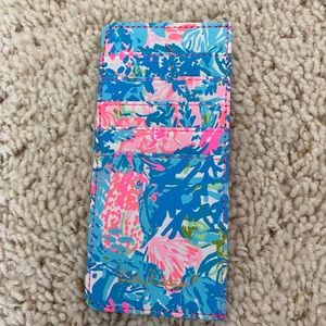 Lilly Pulitzer Fished My Wish Credit Card Holder
